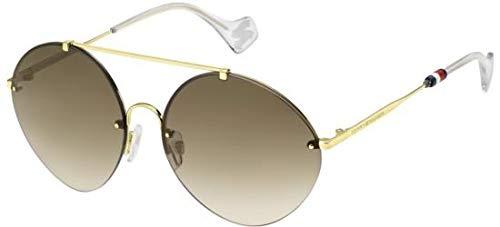 Tommy Hilfiger Gafas de Sol TH Zendaya II Gold/Brown Shaded ...