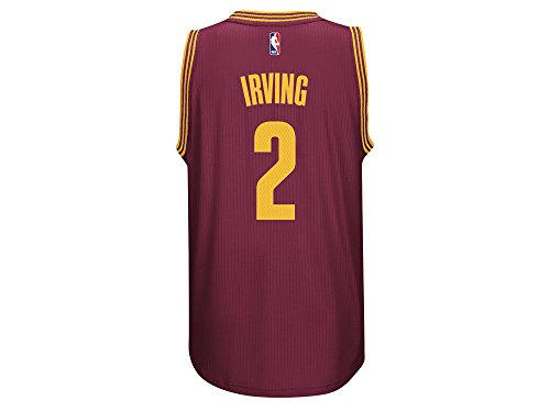 Kyrie Irving Men's Maroon Cleveland Cavaliers adidas Swingman Jersey Large (Cavaliers New Jersey)