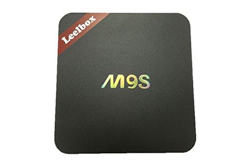 Amazon Lightning Deal 56% claimed: Leelbox M9S Android 5.1 kodi 16.1 TV Box 2GB RAM 16GB ROM Amlogic S812 Quad Core AP6330 Wifi Module Support 802.11n