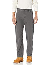 Men's Relaxed Fit Straight-Leg Duck Carpenter Jean