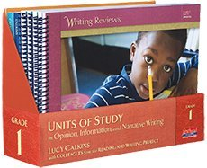 Units of Study in Opinion, Information, and Narrative Writing, Grade 1 (The Units of Study in Opinion, Information, and Narrative Writing Series) (Lucy Calkins Units Of Study Grade 3)