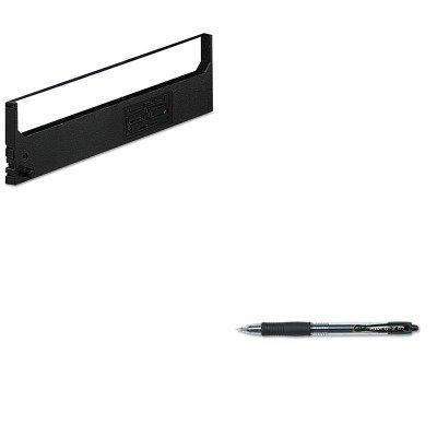 KITDPSR1800PIL31020 - Value Kit - Dataproducts R1800 Compatible Ribbon (DPSR1800) and Pilot G2 Gel Ink Pen (PIL31020) - Dataproducts R1800 Compatible Ribbon