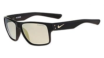 Nike Mavrk de Golf R Gafas De Sol, Negro/Oro Marco, Gris ...