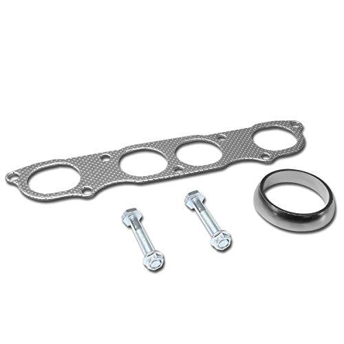 (Aluminum Exhaust Manifold Header Gasket Set for 99-09 Honda S2000 AP1 AP2 2.0 2.2 DOHC)