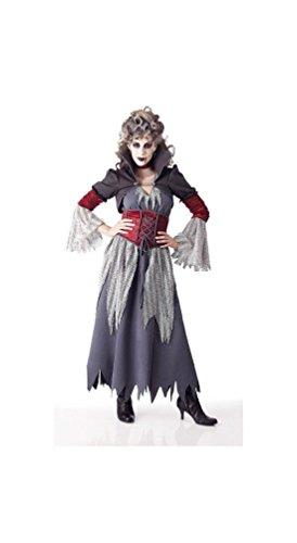 Edwardian Banshee Women Costume - Adult Costume - Small Grey ()