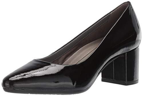 Aerosoles Women's Silver Star Pump, Black Patent, 12 M US