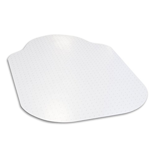 Evolve Modern Shape 36''x 48'' Clear Office Chair Mat with Lip for Low Pile Carpet, Made in The USA by Dimex, Phthalate Free, C515001G by Dimex
