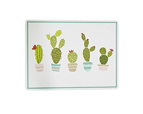 Placemats Table Mats Cactus Decor Cork Backed Hard Placemats Wipe Clean Rustic Home Decor 12