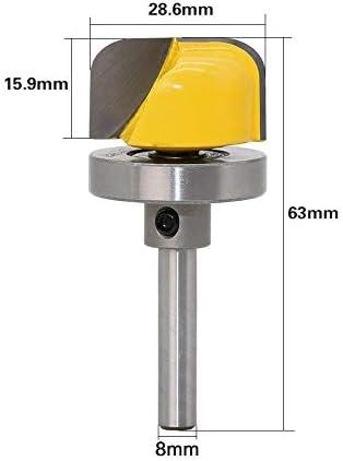 GENERICS LSB-Werkzeuge, 1 Stück 8mm Schaft Schüssel Und Tablett Vorlage Holz Fräser Schneidemaschine Fräser Holzbearbeitung Fräser (Cutting Edge Length : As Show)