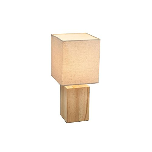 Globo Table Lamp, Wood, Beige 21698