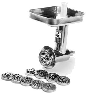 Globe Food Meat Grinder Assembly for Globe Mixers