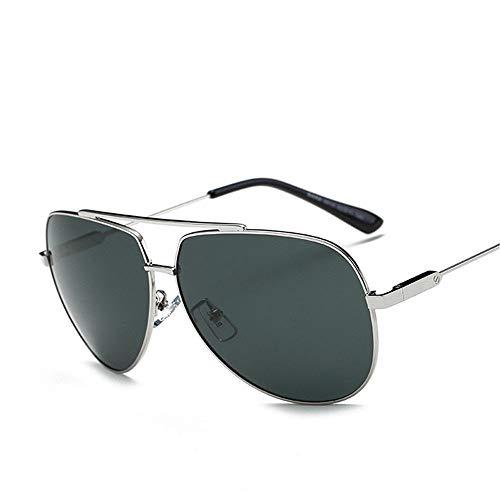 Gafas Polarizadas Sol Plateado Hombres Color De De ZYZHjy Pistola 5fq4Ac