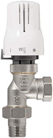 Thermostat-Komplett-Set Axialform   Heizkörper   Heizung   1/2 Zoll