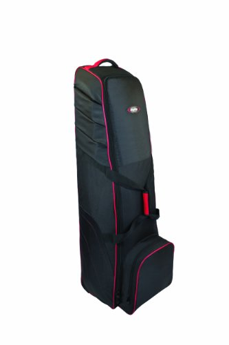 Bag Boy T-700 Golf Bag Travel Cover, Black/Red