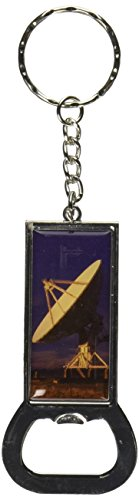 (Graphics and More Ring Bottlecap Opener Key Chain, Very Large Array VLA Radar Dish New Mexico At Sunset (KK1953))