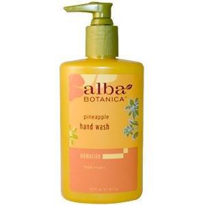 Alba Hand Wash (Alba Botanica Gentle Hand Wash-Pineapple-8, oz.)