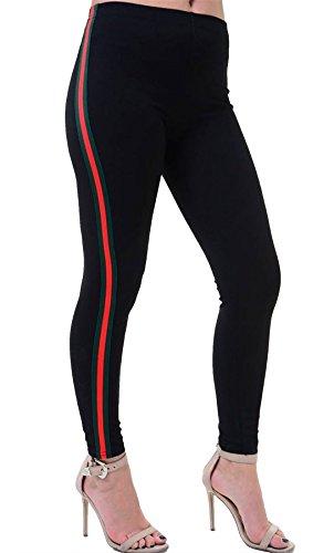 Sport Mujer Leggings Talla Negro 21fashion a4Apqx