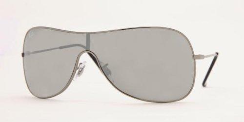 2fa74cd463 Ray Ban RB3211 Sunglasses-004 6G Gunmetal (Gray Silver Mirror Lens ...