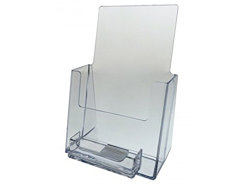 Marketing Holders 6 Pack Counter Top Brochure & Business Card Holder for 5.5'' Wide by Marketing Holders
