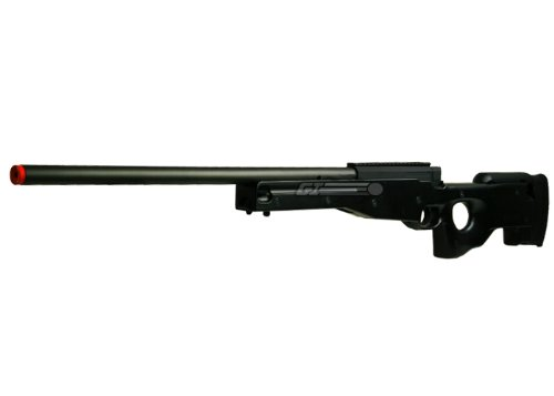 double eagles full metal l96 bolt action sniper rifle airsoft gun ( blk )(Airsoft Gun)