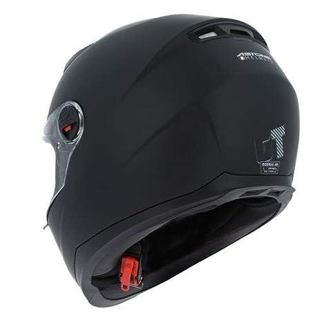Astone Helmets Casque int/égral en polycarbonate Matt black L Casque id/éal milieu urbain Casque int/égral GT2 Monocolor