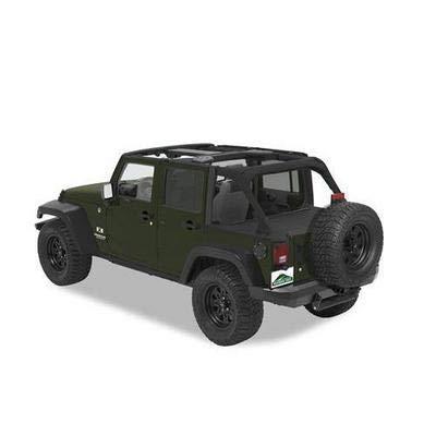 Pavement Ends by Bestop 41829-35 Black Diamond Cargo Cover for 2007-2018 Jeep Wrangler JK Unlimited