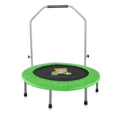 大勧め 2人の子供のためのハンドルが付いている38インチの子供のトランポリン、屋内または屋外の親子のトランポリンの練習 (3 (3 B07R14Q29G 歳 +) B07R14Q29G Green Green Green, シェーンコスメ:60b83fd0 --- arianechie.dominiotemporario.com