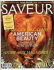 Saveur Magazine November 2006 - Madrid African Chocolate Ny Cheescake Bayou