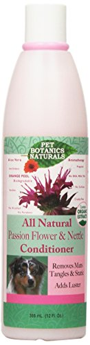 Pet Botanics Naturals Conditioner, Passion Flower & Nettle, 12 oz. by Cardinal Laboratories