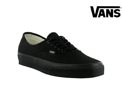 Vans Men's Authentic Pro Skate Shoe Black/Black 11 B(M) US Women / 9.5 D(M) US Men