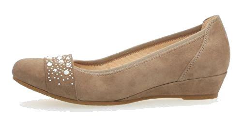 vestir de beige Beige mujer Piel de Gabor Zapatos para Beige Rp5xwp1q