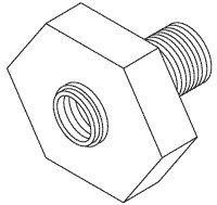 Head Cover Nut for 630 Select-A-Fuge BDN013
