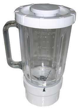 Licuadora de cristal 1.2 L base blanca referencia: A994 para ...