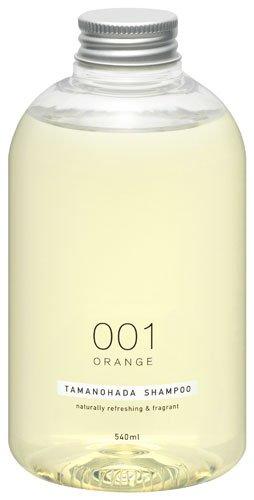 TAMANOHADA Shampoo Naturally Refreshing and Fragrant, No. 001 Orange, 18.25 Fluid Ounce
