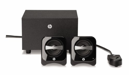 HP 2.1 Compact Speaker System (BR386AA#ABL) (Hp Subwoofers)
