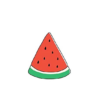 Gc watermelon neck forearm ankle feet fashion temporary tattoo sticker pa23