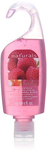 Naturals Raspberry Avon - Avon Naturals Body Wash- raspberry and hibiscus shower gel