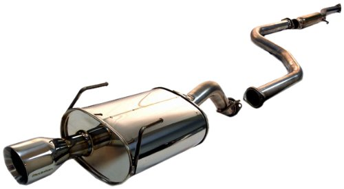 Tanabe T70003 Medalion Touring Cat-Back Exhaust System for Honda Civic Coupe/Sedan 1992-1995