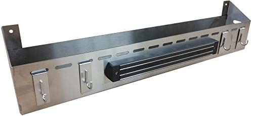 Backyard Life Gear Front Tray for Camp Chef Griddle FTG600, 4-Burner (Stainless Steel)