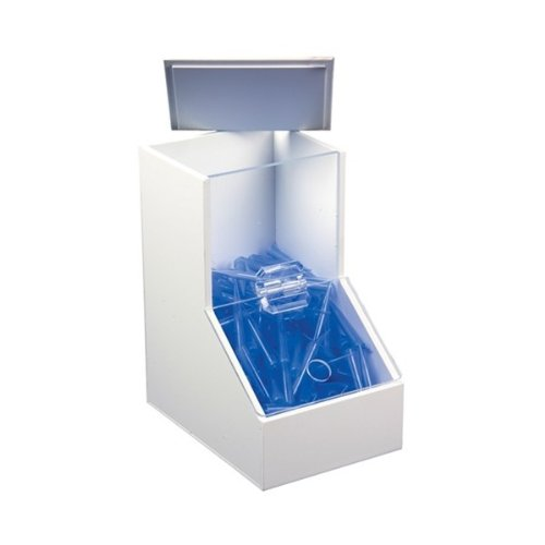Alkali Scientific 50005 Clear Acrylic Large Dispensing Bin with 3 Compartments, 18-1/4