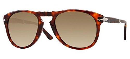 Persol PO0714 24/51 Tortoise PO0714SM Square Sunglasses Lens Category 2 Size 54 (Persol 9714)
