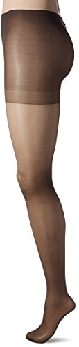 L'eggs Women's Sheer Energy N Wband Contol Top Panty Hose, Off Black, B (Pantyhose Top Waistband Control)