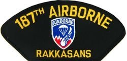 U.S. Army 187th Airborne Patch (Large)