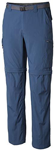 - Columbia Men's Silver Ridge Convertible Pant, Breathable, UPF 50 Sun Protection, Petrol Blue, 32x30