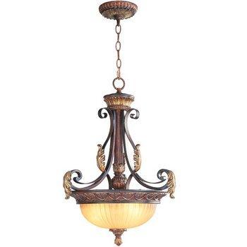Livex Lighting 8567-63 Villa Verona Inverted Pendant (Verona Collection Pendant)