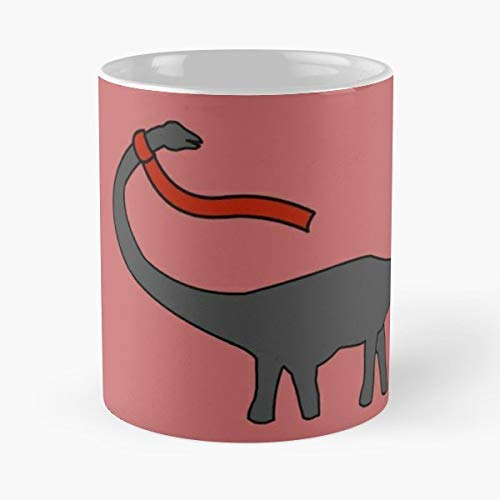- Dippy Dinosaur Oakland Pittsburgh - 11 Oz Coffee Mugs Ceramic The Best Gift For Holidays, Item Use Daily