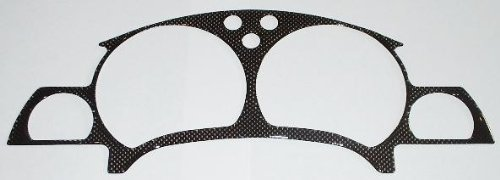- 97 98 Saturn SC Twin Cam Carbon Fiber Dash Trim Gauges Cluster Bezel