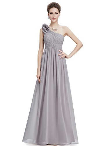 Ever-Pretty Womens Floor Length Mother of The Bride Dress 6 US Grey