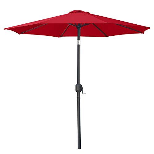 MASTERCANOPY Maket Patio Umbrella Outdoor Garden Table Umbrella with 8 Ribs