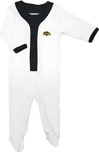 Iowa Hawkeyes Baby Athletic Playsuit (Iowa Hawkeye Baby Clothes)